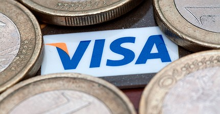 Прибыль Visa упала почти в четыре раза