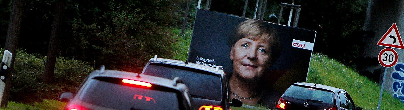 Angela Merkel procura quarto mandato como chanceler da Alemanha
