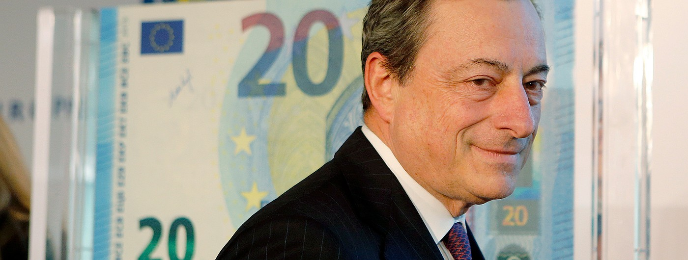 Как Марио Драги спасти евро