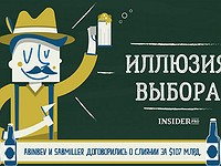 Инфографика: 5 компаний, которые контролируют мировой рынок пива