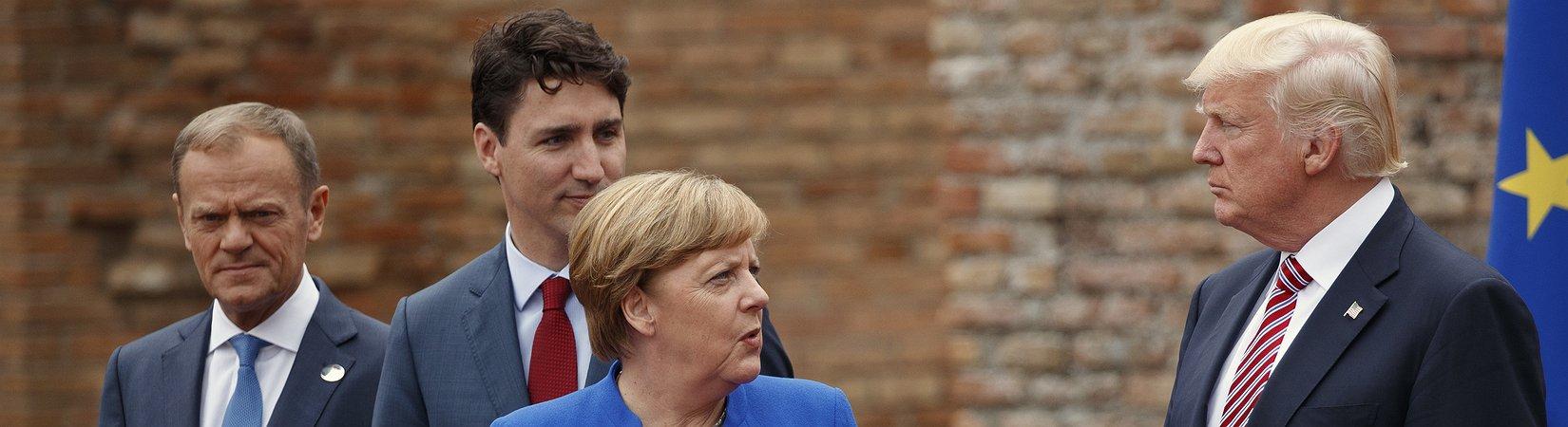 Меркель: Европа больше не может полагаться на США и Великобританию