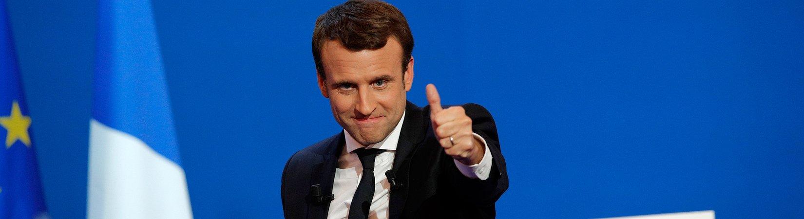 Macron e Le Pen avanzano al secondo turno