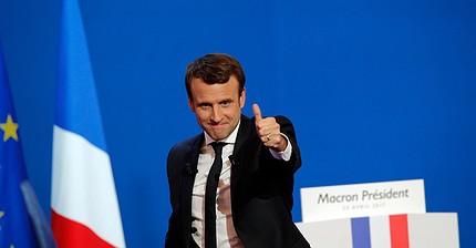 Макрон и Ле Пен прошли во второй тур президентских выборов