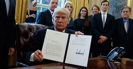 Donald Trump ha aprobado la construcción de los oleoductos Dakota Access y Keystone XL