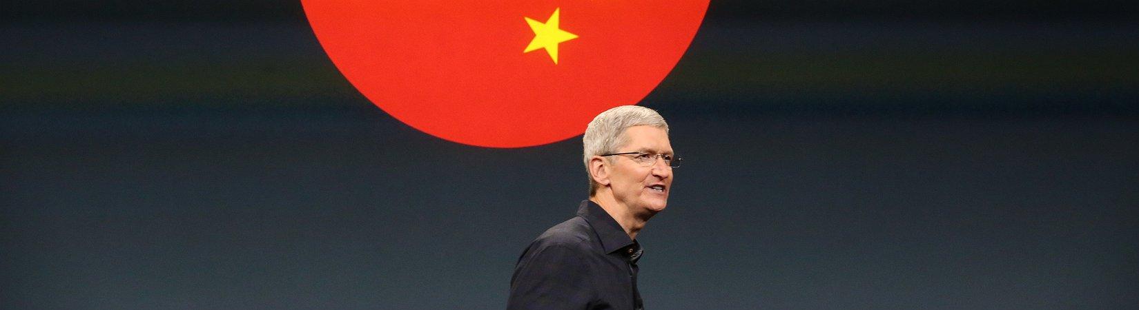 Apple configura o seu primeiro centro de dados na China