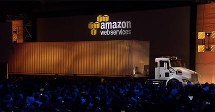 Amazon transportará sus datos en camiones