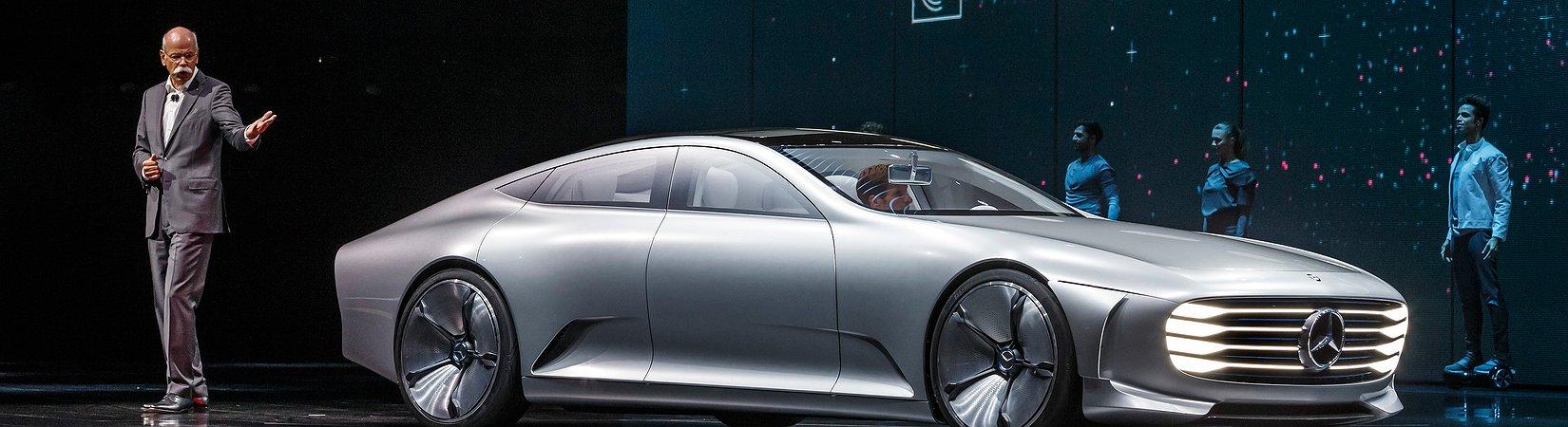 Mercedes rückt Tesla auf die Pelle
