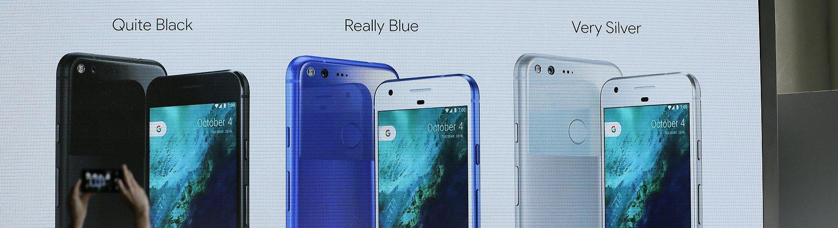 Google promove o seu mais recente smartphone