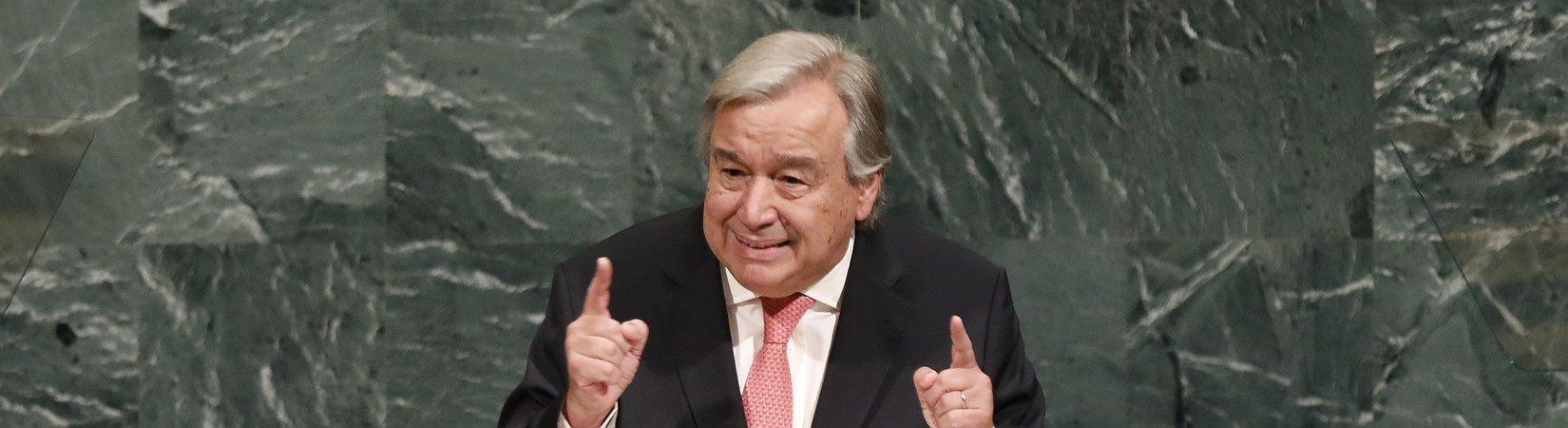 António Guterres aborda crise em Myanmar
