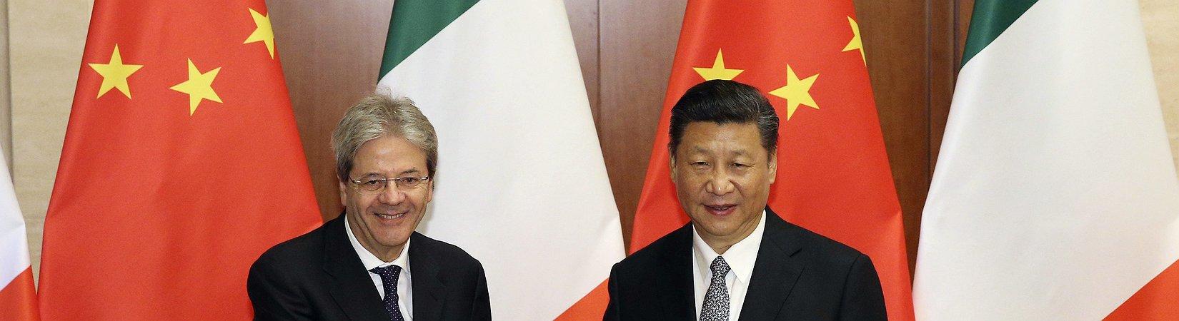 Italia e Cina creano un fondo da 100 milioni di euro per piccole e medie imprese