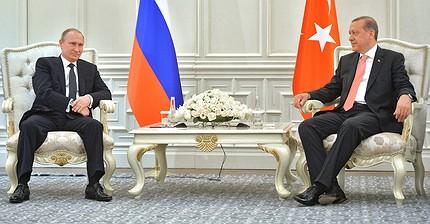 Трудности перевода: вКремле уточнили фразу изписьма Эрдогана