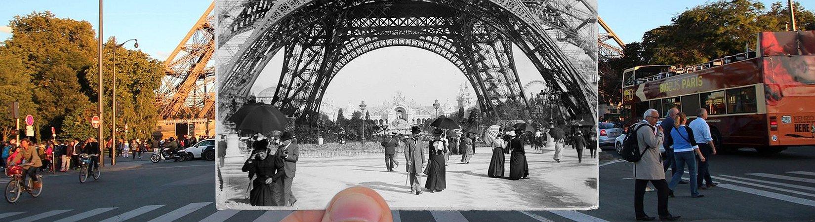 21 Fotografias que mostram como Paris mudou nos últimos cem anos
