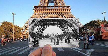 ФОТО: Как Париж изменился за 100 лет
