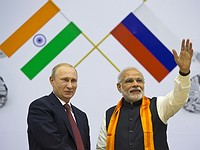 Russia signed the biggest-ever oil and military deal with India