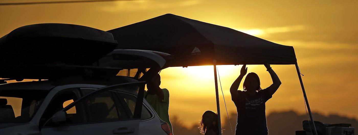 Фото дня: Америка готовится к полному солнечному затмению