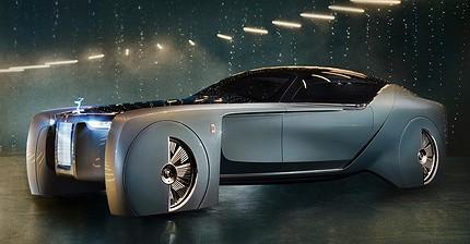 Rolls-Royce presenta su primer coche sin conductor