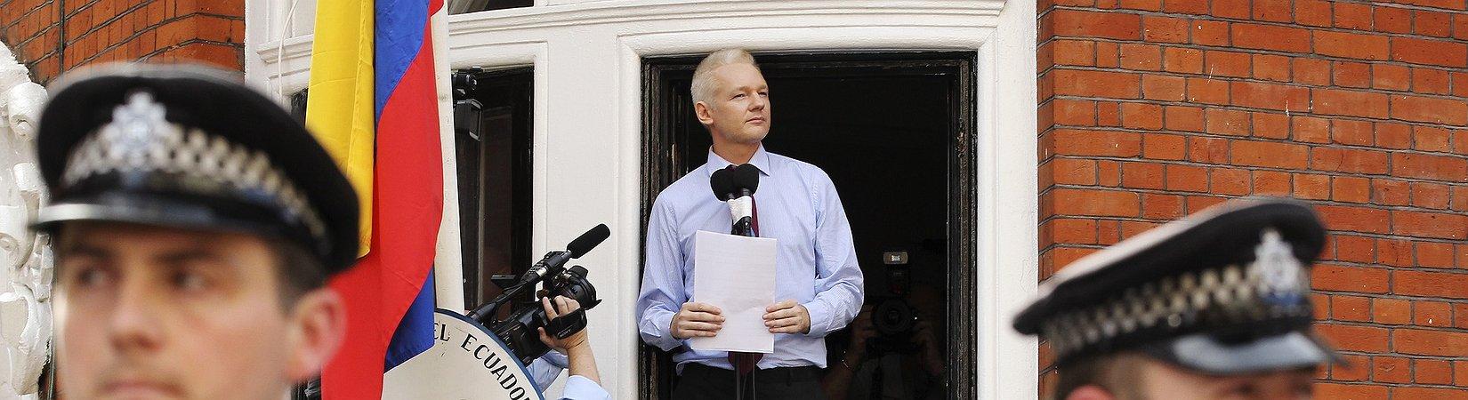 Jullian Assange macht klare Ansage