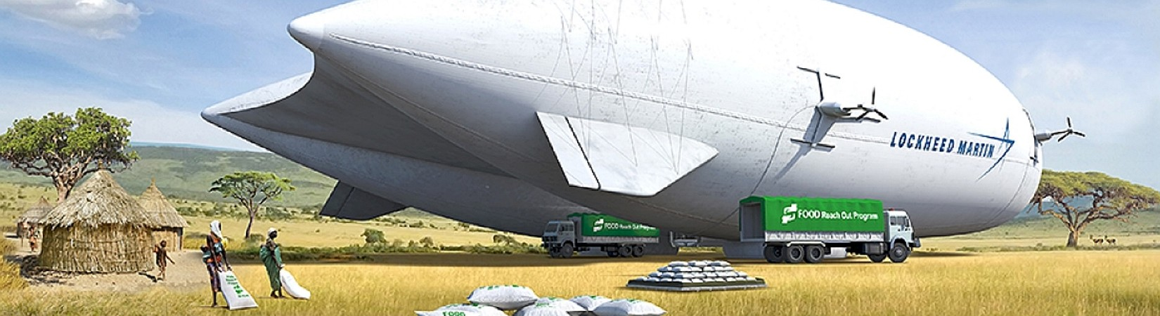 Gas explorer partners with Lockheed on helium airships