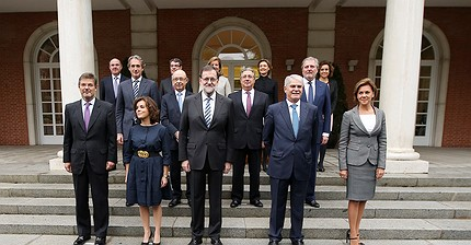 Rajoy anuncia su nuevo gabinete de Gobierno