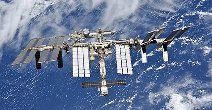 ФОТО: Как Международная космическая станция выглядит из космоса