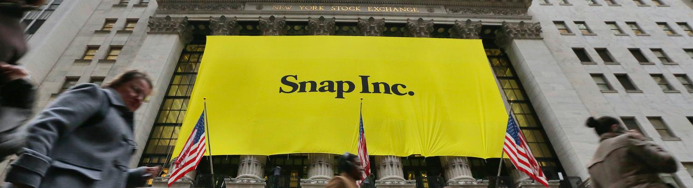 Snap supera le aspettative prima del debutto in Borsa