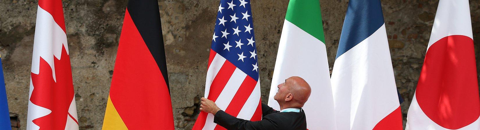 G7, i leader si riuniscono in Sicilia