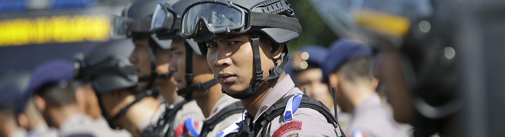 Detonationen und Schüsse in Jakarta
