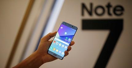 Samsung detiene la producción del Note 7