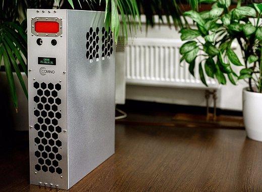 جهاز Comino: كيف تستخرج العملات المشفرة وفي نفس الوقت تدفئ منزلك
