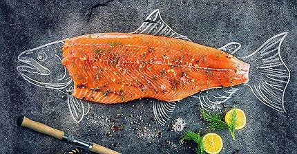 Великобритания побила рекорд по экспорту продуктов благодаря лососю