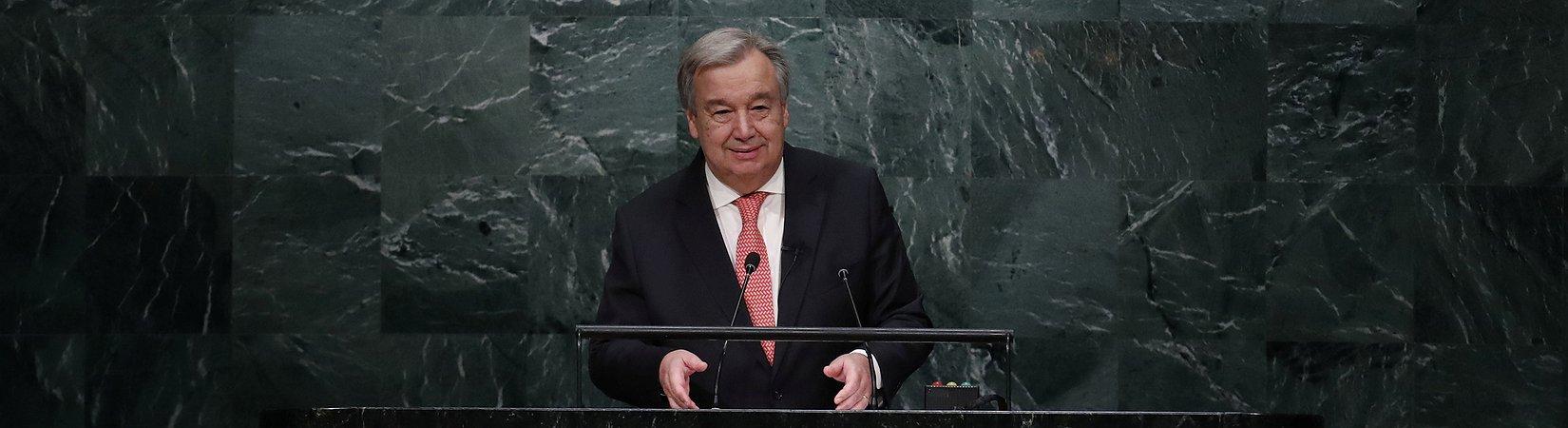 António Guterres apresenta plano de ação no Conselho de Segurança da ONU