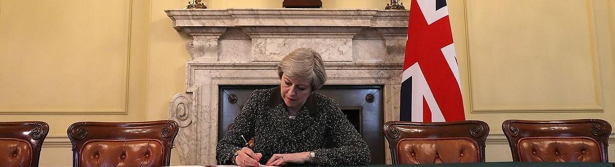 El Reino Unido presiona el botón del Brexit
