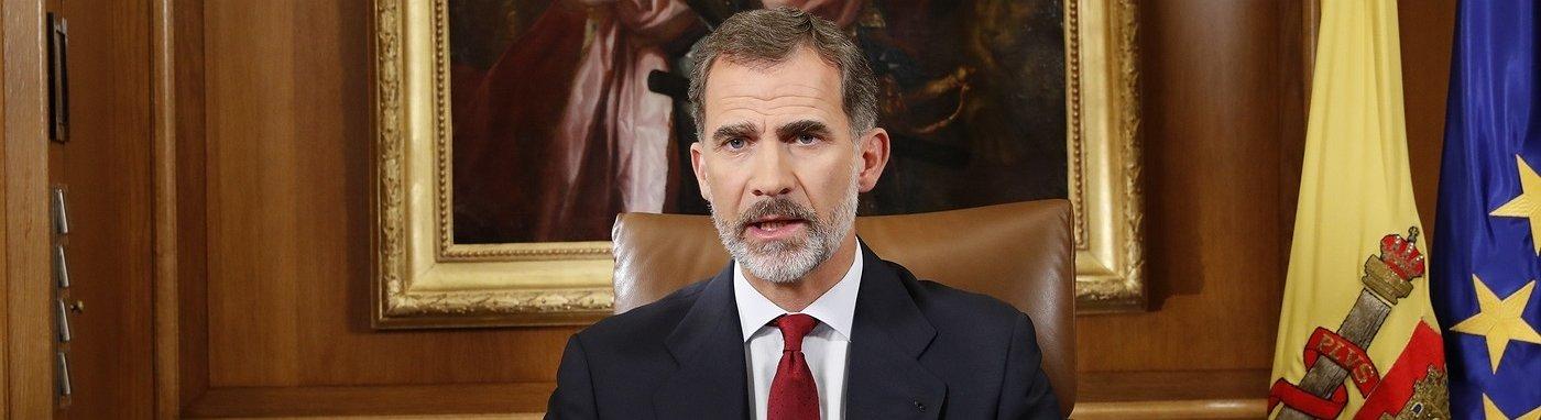 """El Rey acusa a la Generalitat de """"deslealtad inadmisible"""""""