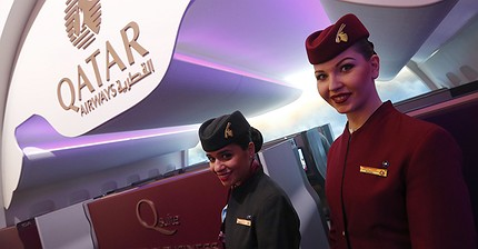 Qatar to give business class passengers loaner laptops to get around US/UK bans