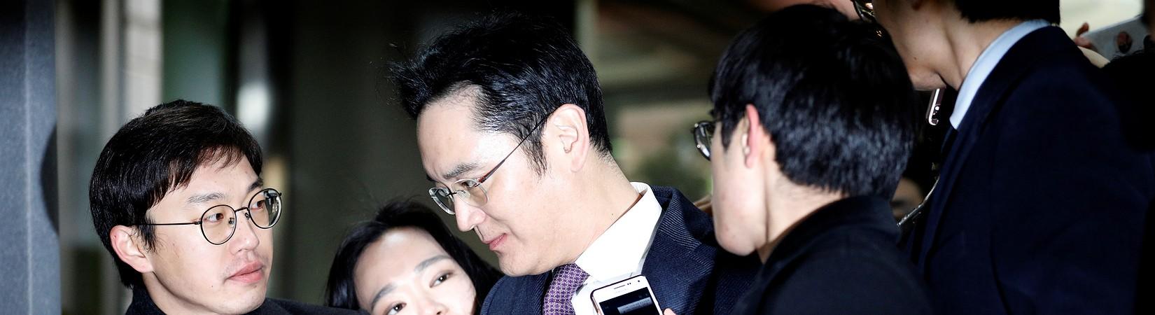 Come beneficiare di uno scandalo corruzione: il caso Samsung