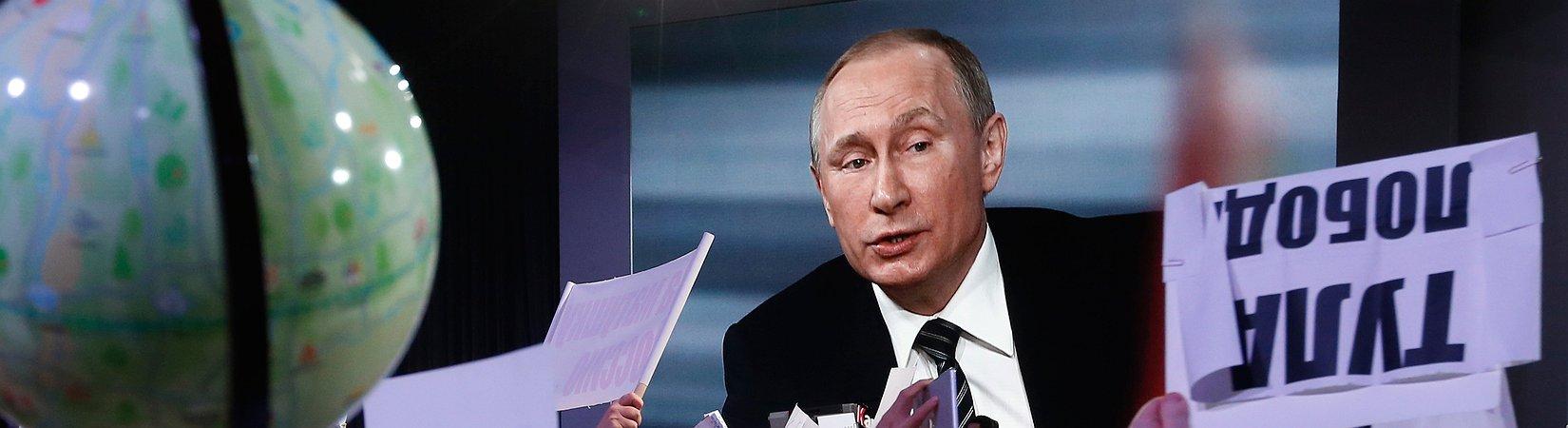 Die besten Zitate aus Putins Pressekonferenz