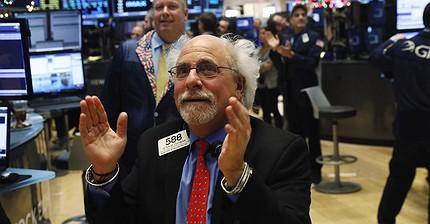 El Dow Jones supera los 20.000 puntos por primera vez en su historia