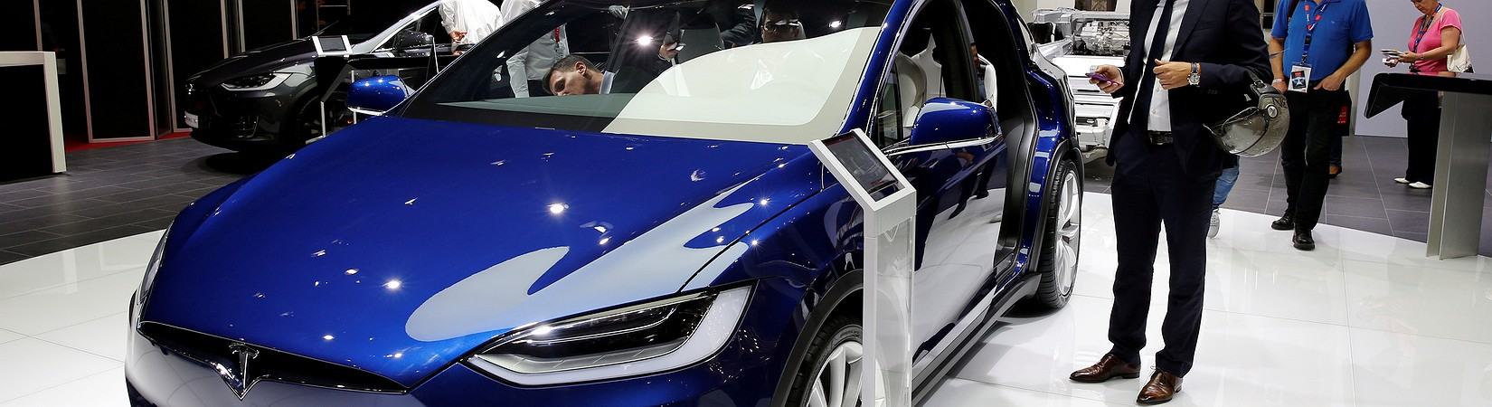 Tesla shares surge again on news of new vehicles