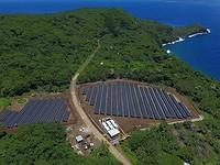 Tesla stellt eine komplette Insel auf Sonnenenergie um