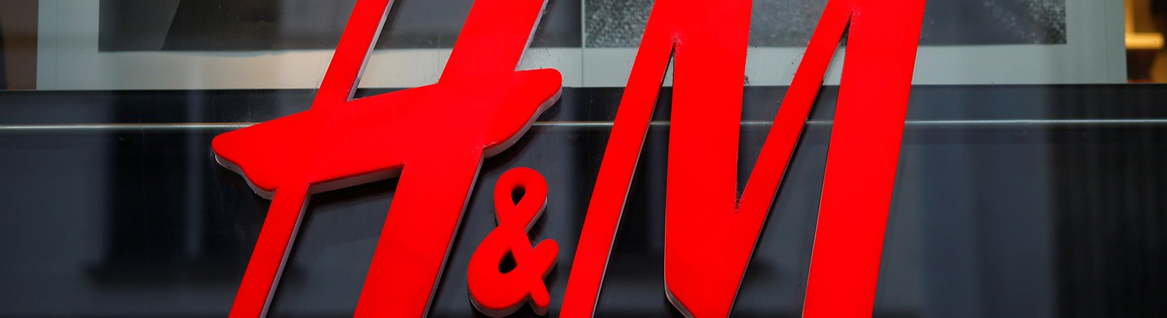 H&M shares plunge as sales flagged