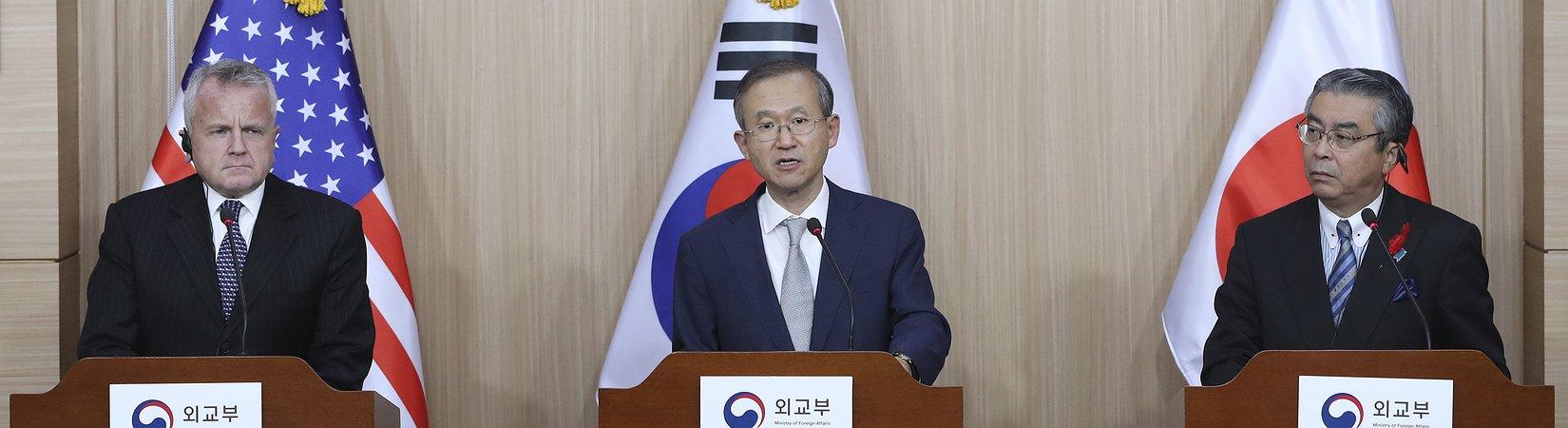 Coreia do Norte em discussão em Seul