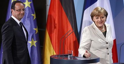 Tras la decisión del Reino Unido, Francia y Alemania se apresuran a salvar la zona euro