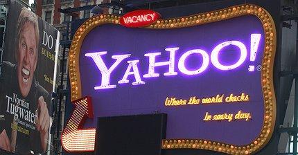 Выручка Yahoo! выросла на 22,1%