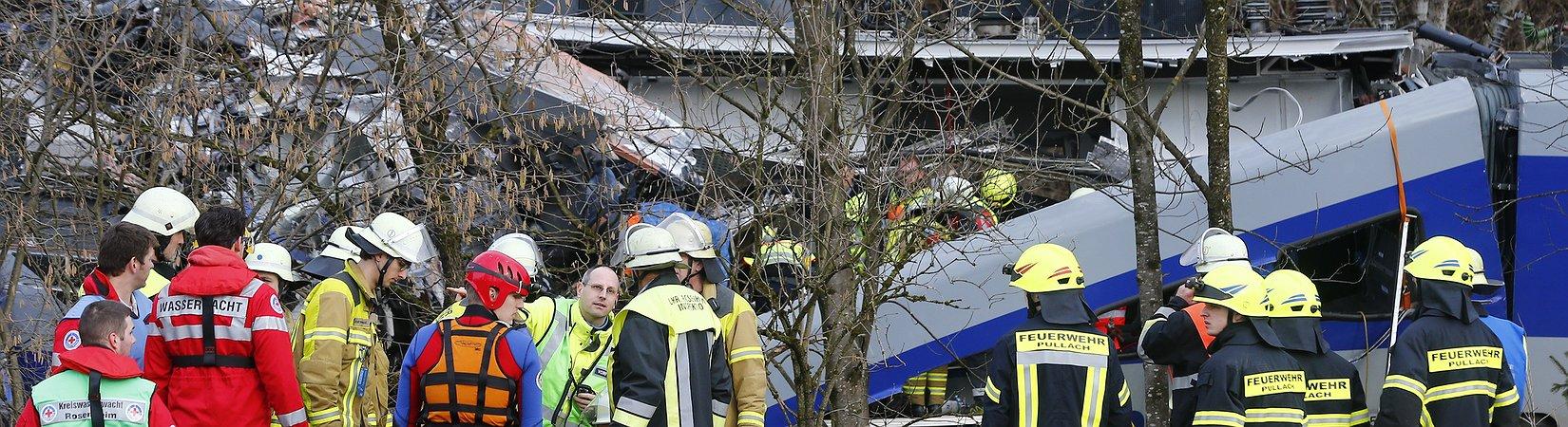 Incidente ferroviario in Baviera, morti e feriti