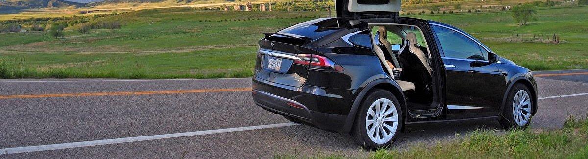 Prueba de conducción del Tesla Model X D100