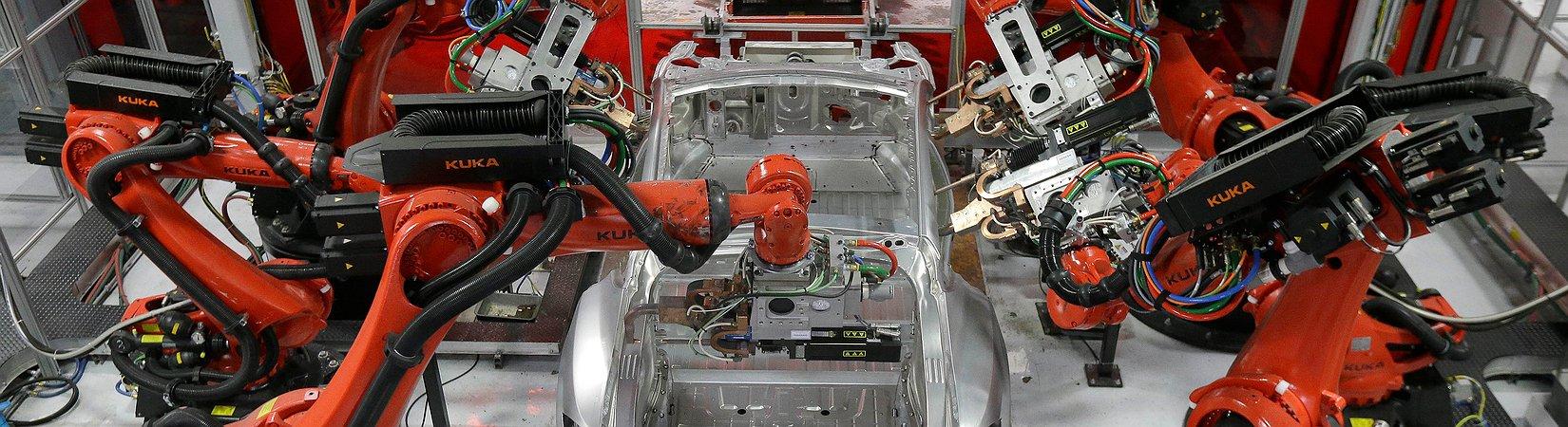 Deutsche Automobilindustrie und Tesla