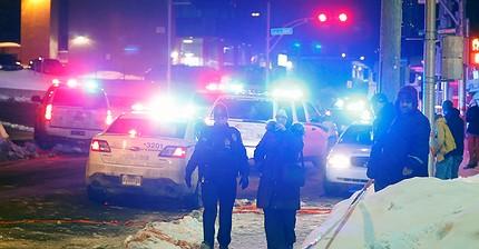 Sparatoria in una moschea canadese, 6 morti