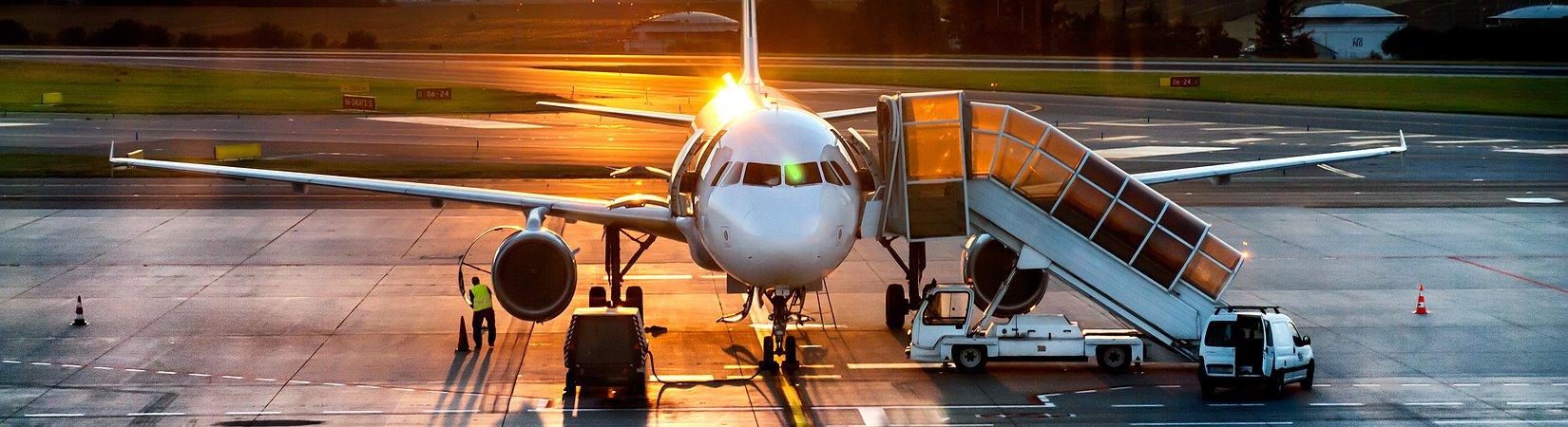 Brasil: crise reduziu voos para o exterior