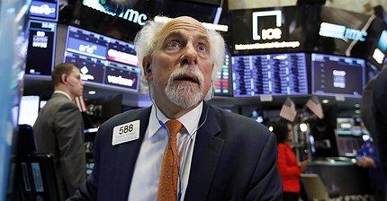Индекс NASDAQ показал максимальное падение за день с 2011 года