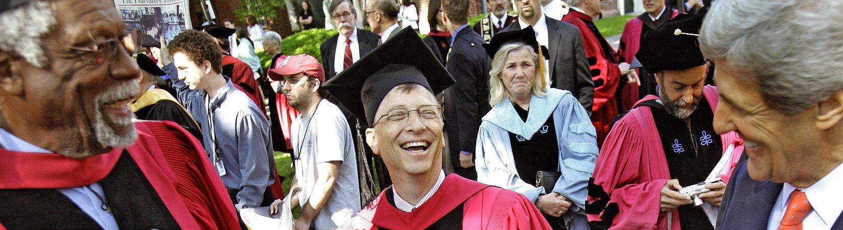 13 consigli di Bill Gates ai neolaureati
